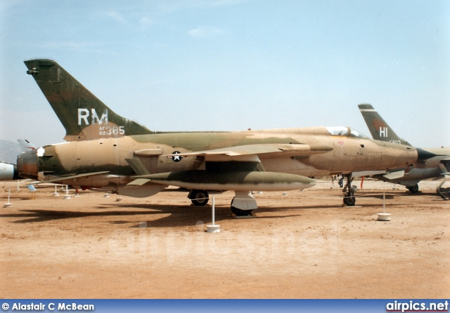 62-4383, Republic F-105D Thundrchief, United States Air Force