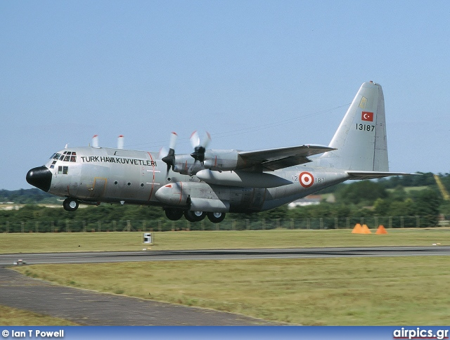 63-13187, Lockheed C-130E Hercules, Turkish Air Force