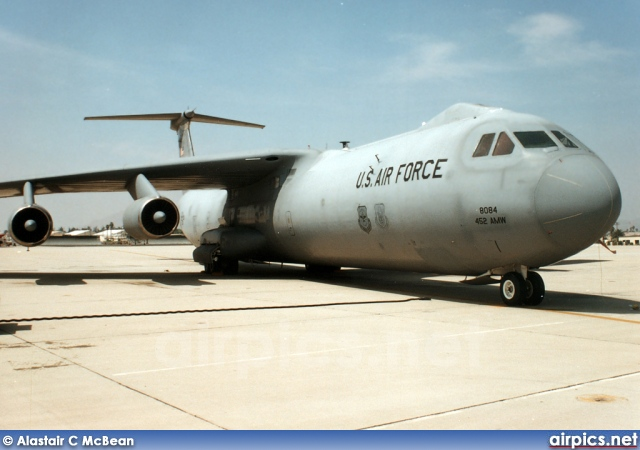 63-8084, Lockheed C-141B Starlifter, United States Air Force