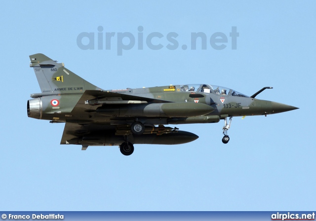 660, Dassault Mirage 2000D, French Air Force