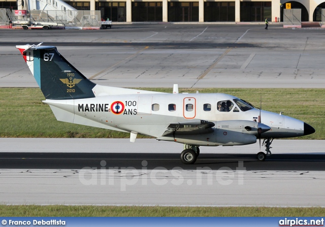 67, Embraer EMB-121AN Xingu, French Navy - Aviation Navale