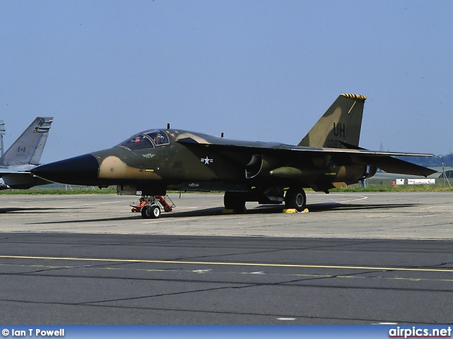 68-0083, General Dynamics F-111E, United States Air Force