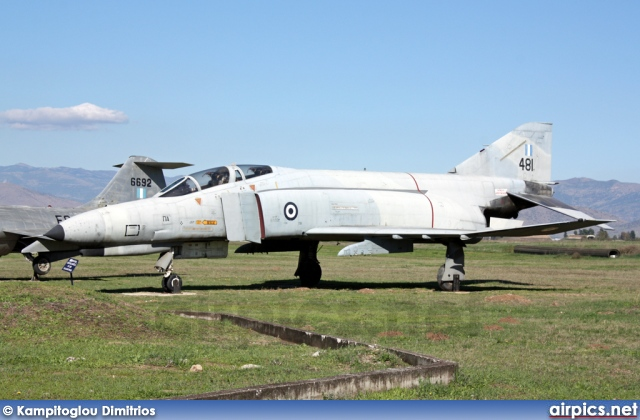 68-0481, McDonnell Douglas F-4E Phantom II, Hellenic Air Force