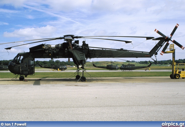 69-18480, Sikorsky CH-54B Tarhe, United States Army