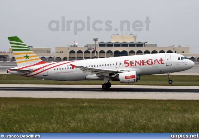 6V-AII, Airbus A320-200, Senegal Airlines