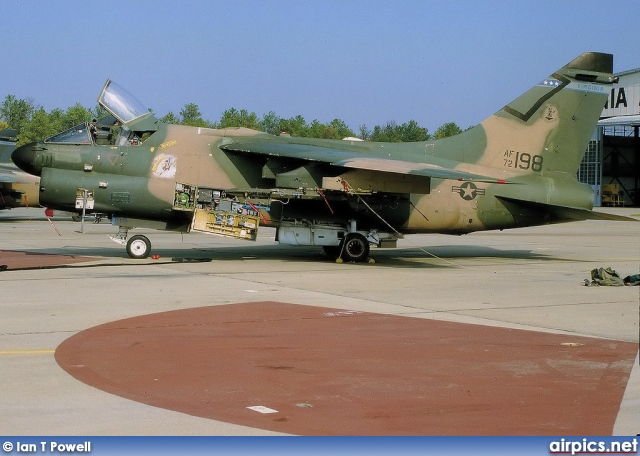 72-0198, Ling-Temco-Vought A-7D Corsair II, United States Air Force