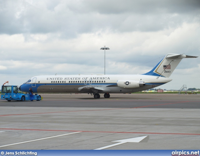 73-1638, McDonnell Douglas VC-9C, United States Air Force