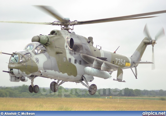 7354, Mil Mi-24V, Czech Air Force