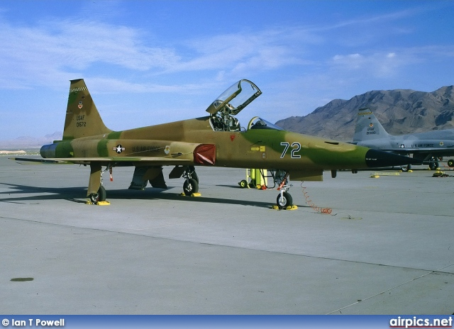 74-01572, Northrop F-5E Tiger II, United States Air Force