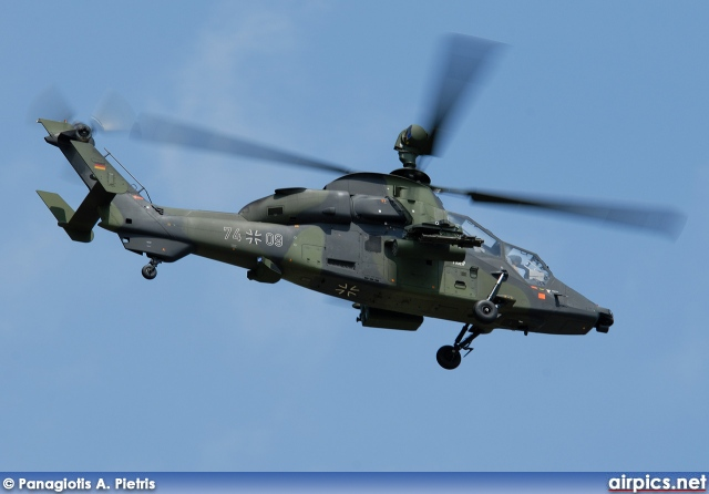 74-09, Eurocopter Tiger UHT, German Army
