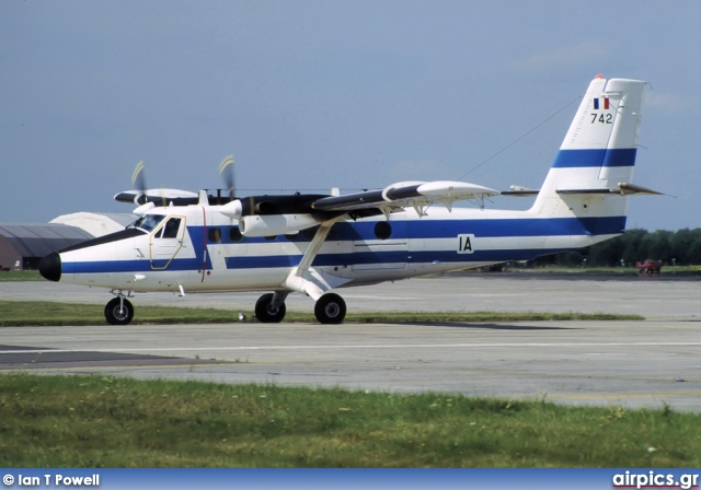 742, De Havilland Canada DHC-6-300 Twin Otter, French Air Force