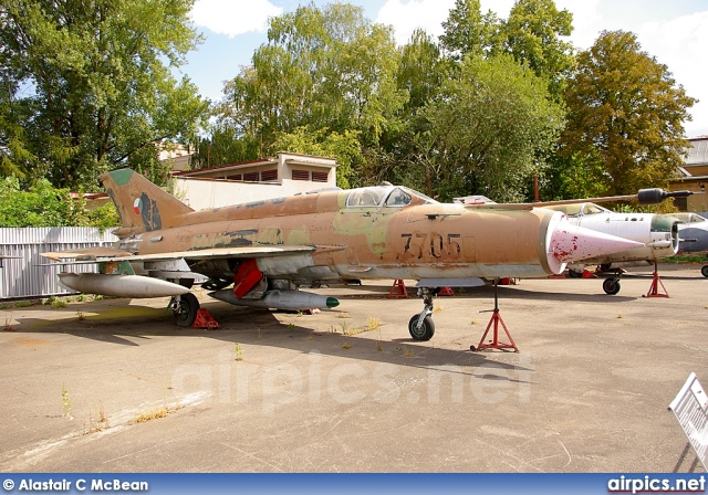 7705, Mikoyan-Gurevich MiG-21MF, Czech Air Force