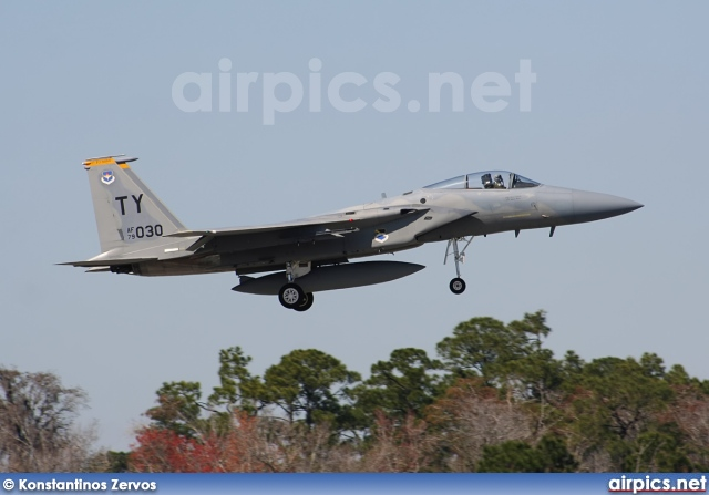 79-0030, Boeing (McDonnell Douglas) F-15C Eagle, United States Air Force