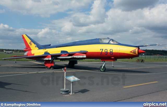 798, Sukhoi Su-22M4, German Air Force - Luftwaffe