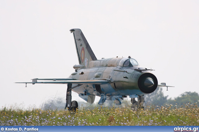 8105, Mikoyan-Gurevich MiG-21MF Lancer A, Romanian Air Force