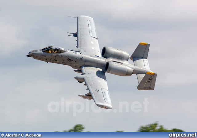 82-0654, Fairchild A-10A Thunderbolt II, United States Air Force