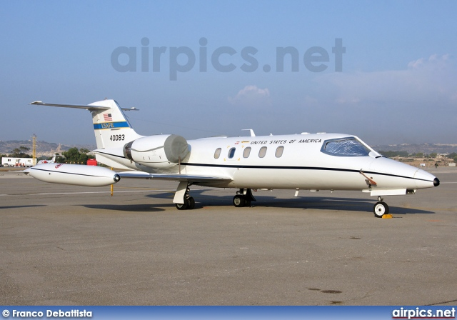 84-0083, Learjet C-21A, United States Air Force