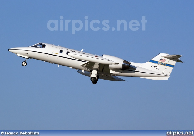 84-0109, Learjet C-21A, United States Air Force