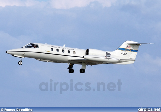 84-0112, Learjet C-21A, United States Air Force