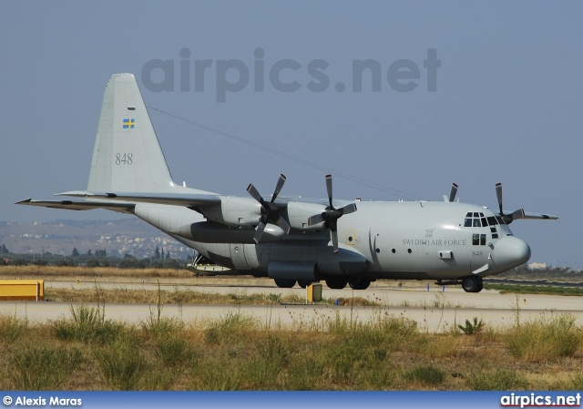 84008, Lockheed C-130H Hercules, Swedish Air Force