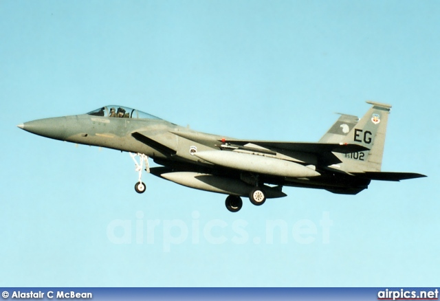 85-0102, Boeing (McDonnell Douglas) F-15C Eagle, United States Air Force