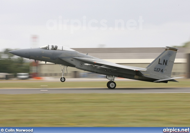 86-0174, Boeing (McDonnell Douglas) F-15C Eagle, United States Air Force