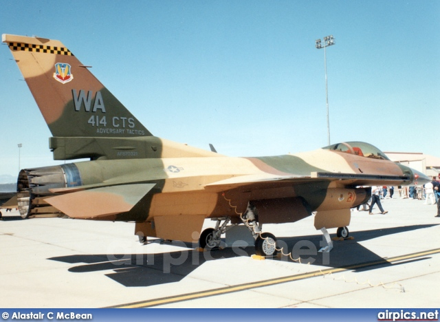 87-0321, Lockheed F-16C Fighting Falcon, United States Air Force