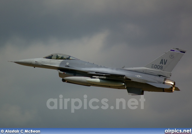89-2009, Lockheed F-16-CG Fighting Falcon, United States Air Force