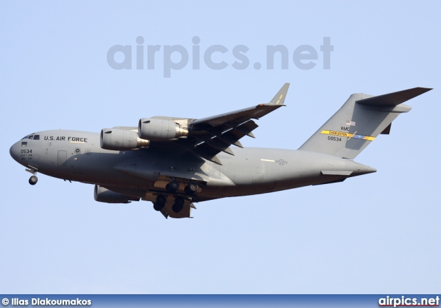 90-0534, Boeing C-17A Globemaster III, United States Air Force