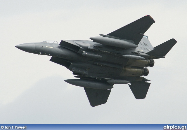 91-0312, Boeing (McDonnell Douglas) F-15E Strike Eagle, United States Air Force