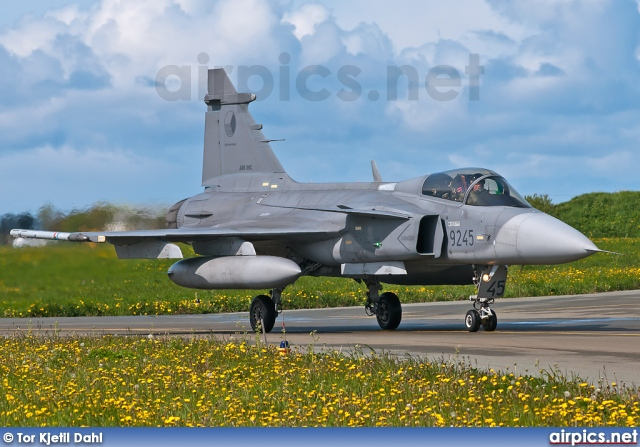 9245, Saab JAS 39C Gripen, Czech Air Force