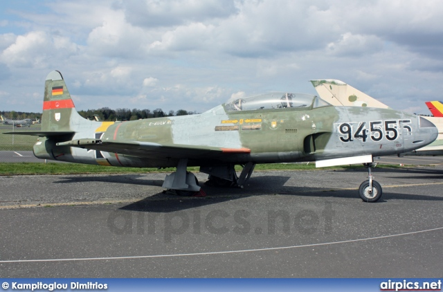 94-55, Lockheed T-33A, German Air Force - Luftwaffe