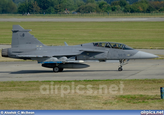 9819, Saab JAS 39D Gripen, Czech Air Force