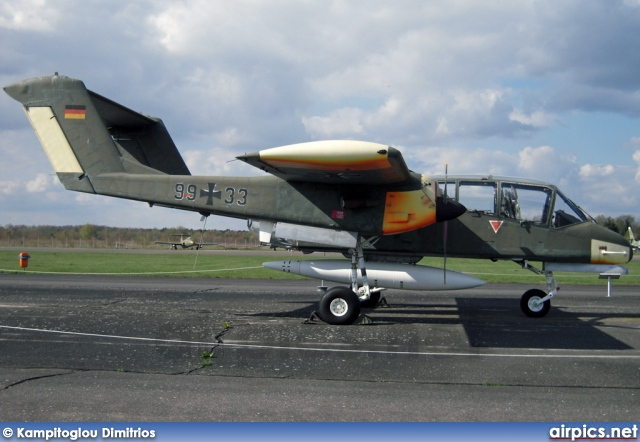 99-33, North American (Rockwell) OV-10B Bronco, German Air Force - Luftwaffe