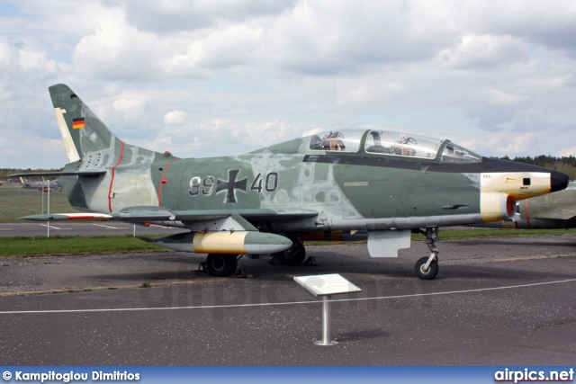 99-40, Fiat G.91T-3, German Air Force - Luftwaffe