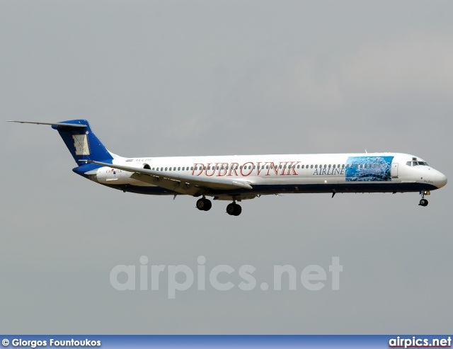 9A-CDE, McDonnell Douglas MD-82, Dubrovnik Airline