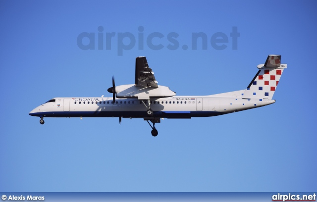 9A-CQA, De Havilland Canada DHC-8-400Q Dash 8, Croatia Airlines