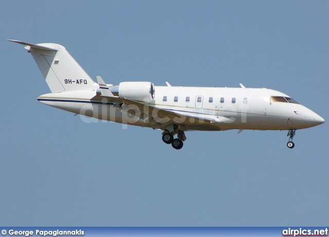 9H-AFQ, Bombardier Challenger 600-CL-605, Untitled