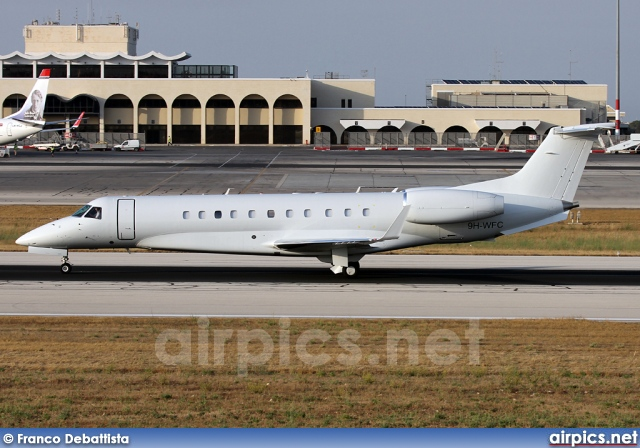 9H-WFC, Embraer ERJ-135BJ Legacy, Private