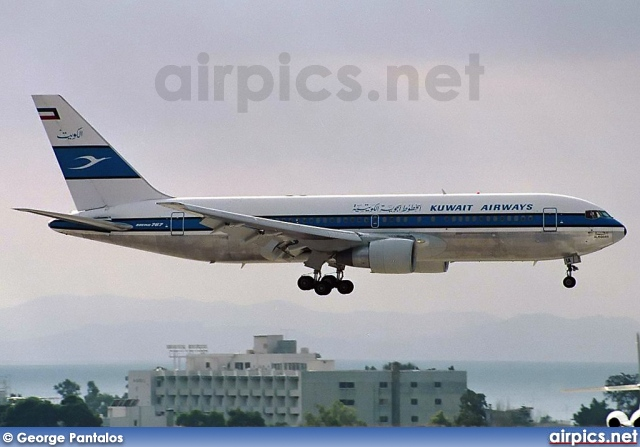 9K-AIA, Boeing 767-200ER, Kuwait Airways