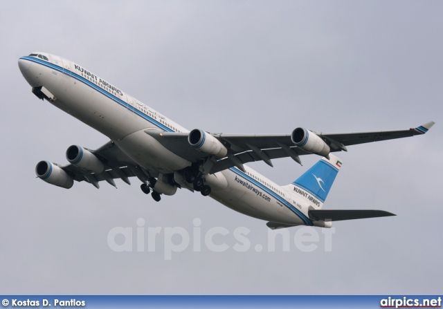 9K-AND, Airbus A340-300, Kuwait Airways
