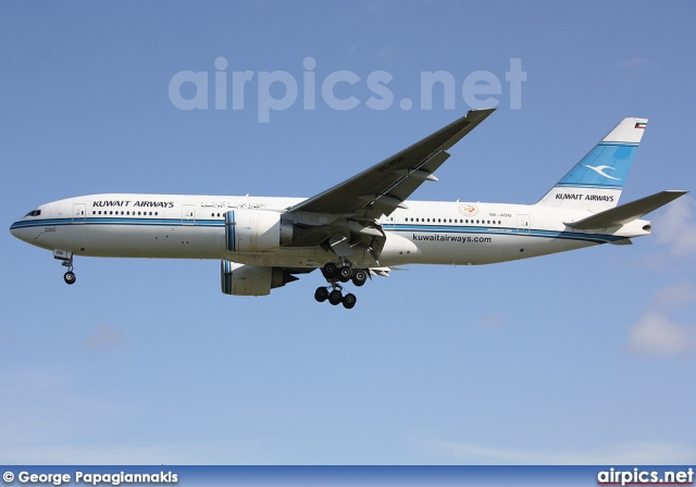 9K-AOB, Boeing 777-200ER, Kuwait Airways