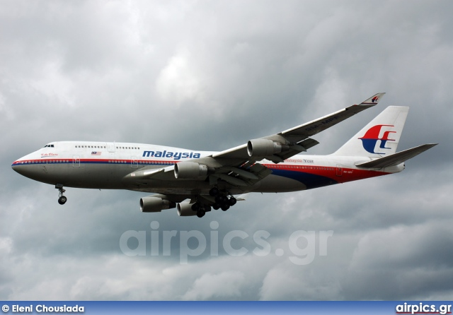 9M-MPF, Boeing 747-400, Malaysia Airlines