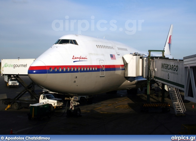 9M-MPH, Boeing 747-400, Malaysia Airlines