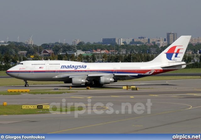 9M-MPO, Boeing 747-400, Malaysia Airlines