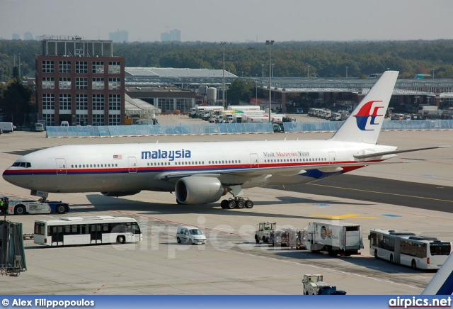 9M-MRH, Boeing 777-200ER, Malaysia Airlines