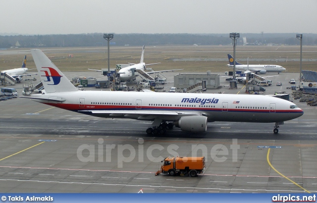 9M-MRP, Boeing 777-200ER, Malaysia Airlines