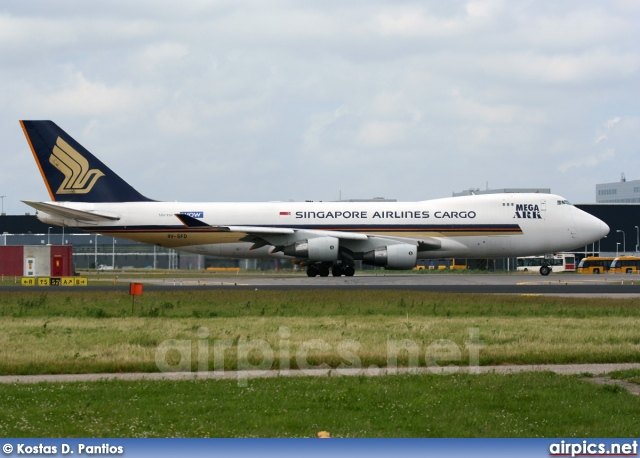 9V-SFD, Boeing 747-400F(SCD), Singapore Airlines Cargo