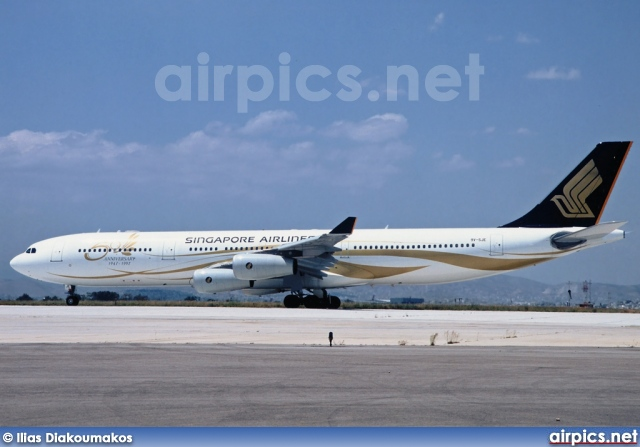 9V-SJE, Airbus A340-300, Singapore Airlines