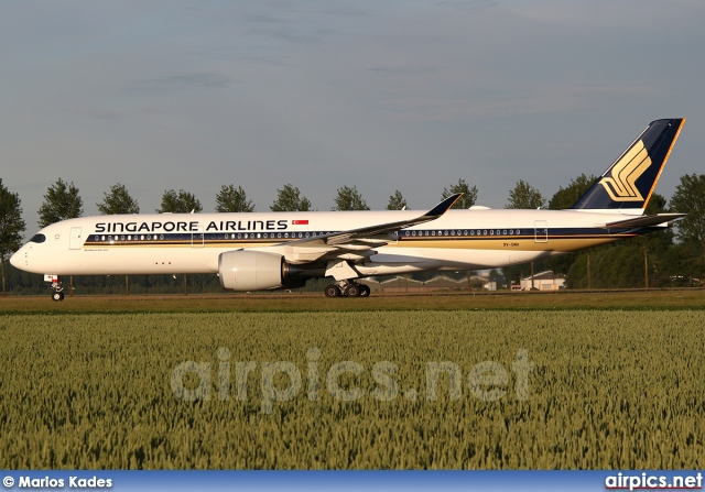 9V-SMA, Airbus A350-900, Singapore Airlines